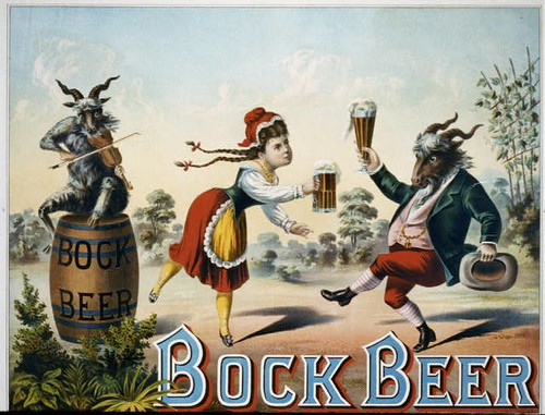Bock beer  (1882)