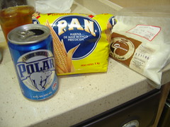 Polar, Harina Pan y Queso Telita