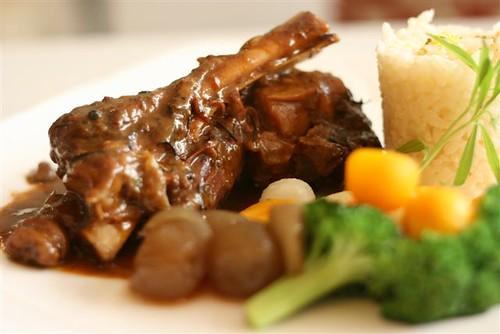 roast lamb leg