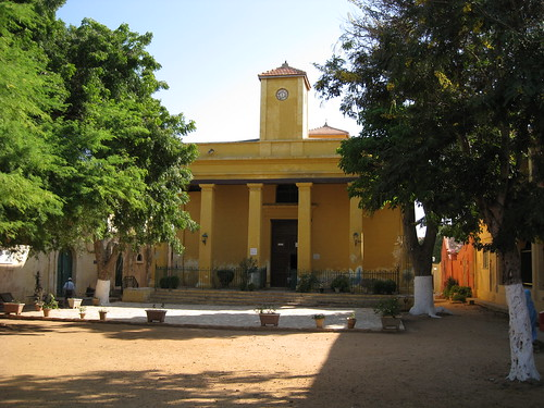 Gorée Island RC Cathedral por dantoujours.