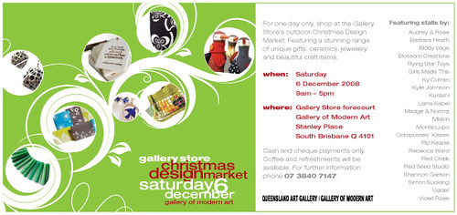 GoMA Christmas Design Market