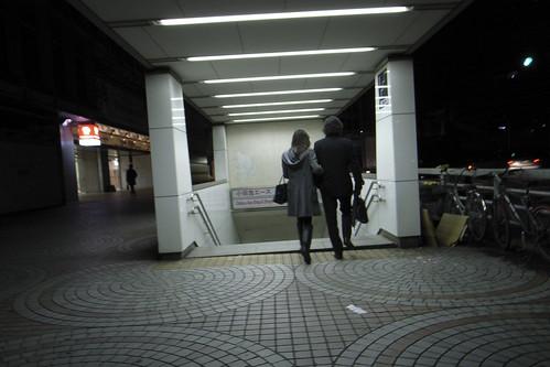 新宿・夜明け前