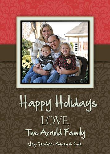 arnold family christmas card 2008 copy