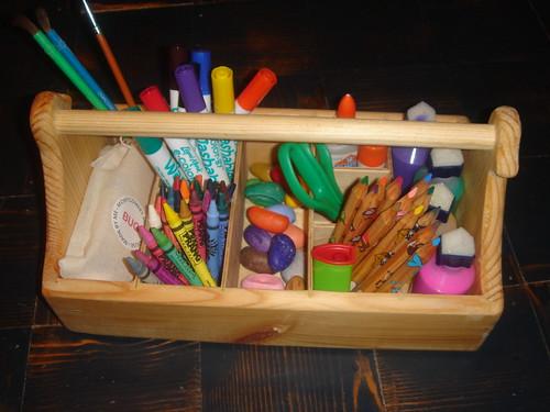 Art Supply Caddy