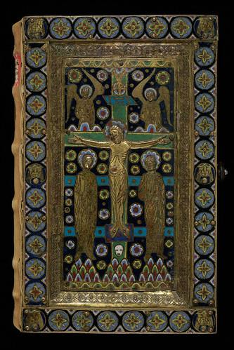 011- Grégoire Regula pastoralis-Tapa- Encuadernacion recubierta por una capa policromada de esmalte de Limoges- hacia el año 800