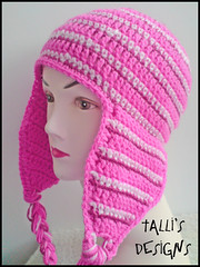 Pinks Earflap Hat