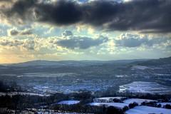 Snow! (J Samuel) Tags: winter snow wales clouds landscape view neath jamessamuel