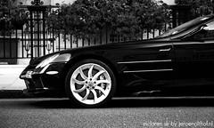 Mercedes-Benz McLaren SLR (Jeroenolthof.nl) Tags: street uk england urban white black slr london classic car photography mercedes benz photo jeroen nikon shot united contest d70s kingdom automotive super 45 mclaren londres winner gb vehicle expensive tuning mayfair londra supercar londen 1870 f35 olthof wwwjeroenolthofnl jeroenolthofnl jeroenolthof