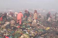 Cambodian dump slums