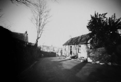 Pinhole ortho lith Law Brae Cottage 31Mar08