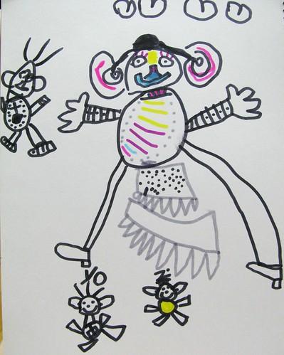 20090219-zozo畫媽媽