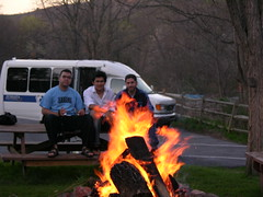 camp, fire, patrick's lodge (From Afghanistan With Love) Tags: life travel camping friends afghanistan college fire photography us student woods pennsylvania lodge campfire patricks juniata zeerak safrang hamesha javaid