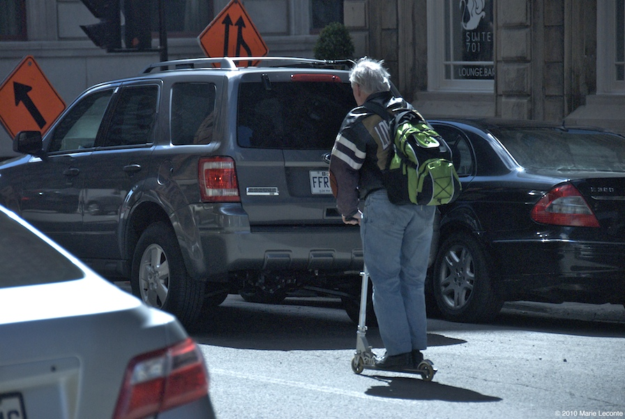 Foot Scooter is best to beat the traffic