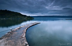 Morning Parapat - Lake Toba - North Sumatra (Dyahniar Labenski) Tags: morning travel nature indonesia nikon cloudy reflexions laketoba northsumatra parapat morningblue holidayfamily niar 1024mm d7000 flickrtravelaward seefrommyeyes ikniroviolet dyahniar
