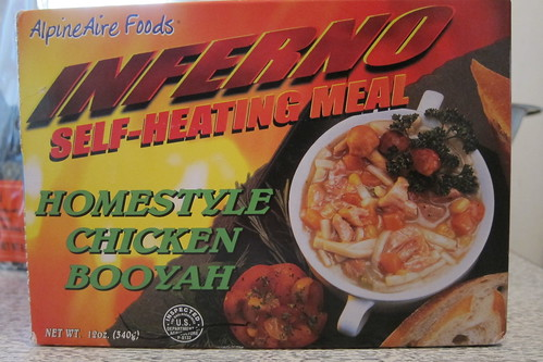 Inferno Self-Heating Meal: Chicken Booyah