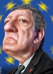 José Manuel Barroso - Caricature