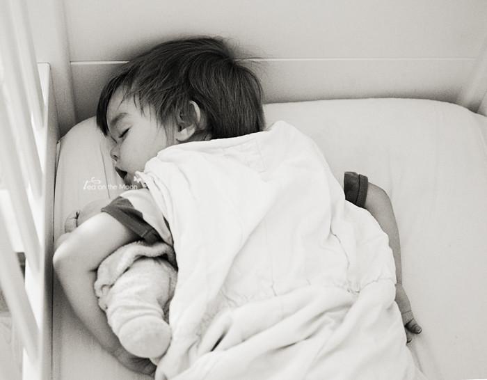 Guillem durmiendo 4