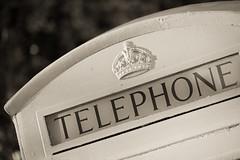 Opposed (Mark J P) Tags: uk greatbritain england blackandwhite bw white english monochrome mono blackwhite britishisles unitedkingdom bokeh britain telephone monochromatic dorset gb british desaturated telephonebox poole phonebox poolepark britishphonebox
