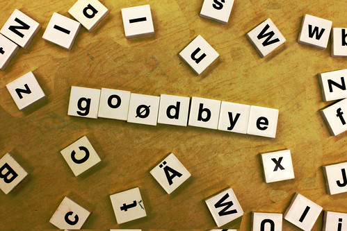 goodbye by woodleywonderworks, on Flickr