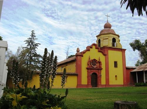 Iglesia de la Hacienda Chacabuco, Colina