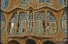 BATLL HOUSE, A fantastic work of Gaudi. (Gigi Mazzarini (mazzarinieyes)) Tags: gaudi soe antoni barcellona battlo abigfave shieldofexcellence mazzarinieyes