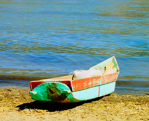 Canoe near Lake Atitlan