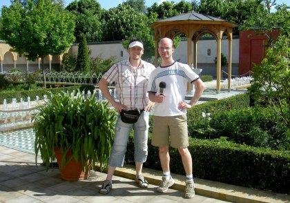 Podcast im Erholungspark Berlin Marzahn