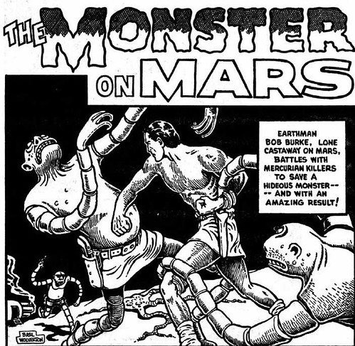 the monster on mars