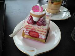 Chou Chou イチゴの小箱(Strawberry Cake)