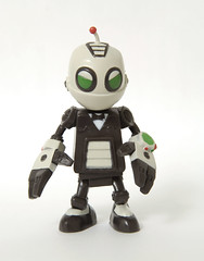 Clank figure - front