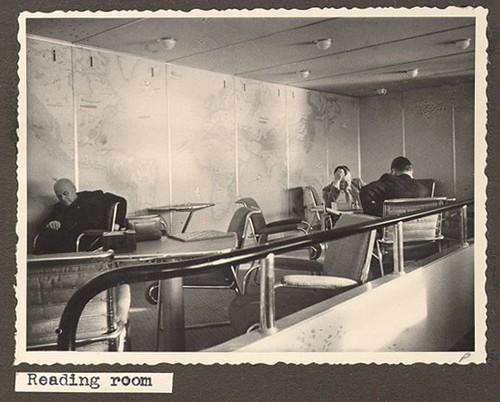 Sala de lectura del Hinderburg
