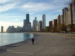 Chicago Skyline JHC (doug.siefken) Tags: city urban chicago art painting geotagged moving flickr downtown cityscape foto image doug cities favorites images uptown r fotos douglas urbanscape streeterville urbanscapes citscapes chicagoan siefken dougsiefken