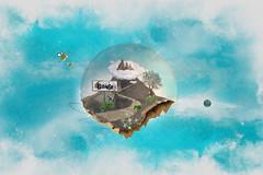 Babieca World (dgadrianmachado) Tags: cielo fantasia musica montaña diseño mundo nube volar babieca