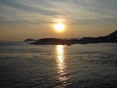 Sunset over the Adriatic Sea