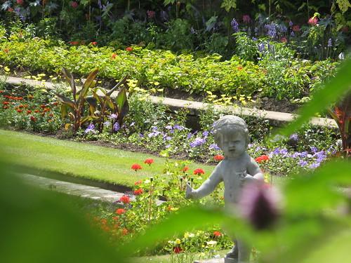 Pond Garden. Hampton Court Palace.