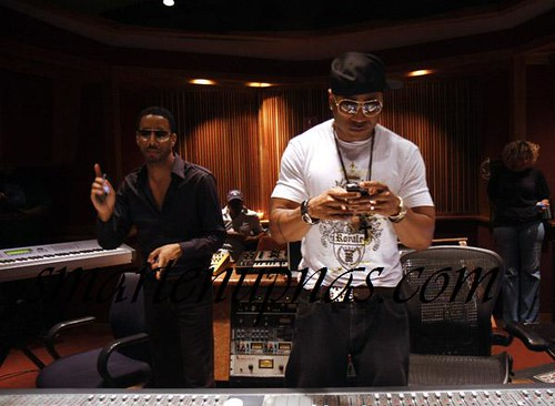 ll cool j ryan leslie in the studio