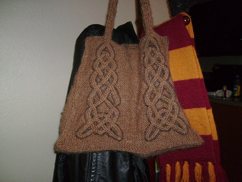 Celtic Tote-PreFelted