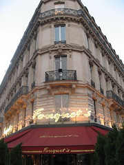 Fouquet's (SaudiSoul) Tags: paris france cafe fouquet