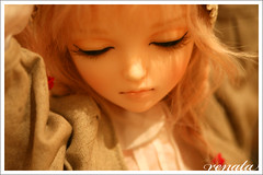 For Lydia... the Noella novela! (r e n a t a) Tags: doll bjd resin resina boneca noella closedeye 60cm dollga dollgacom