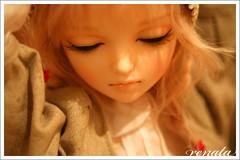 For Lydia... the Noella novela! (r e n a t a) Tags: doll bjd resin resina boneca noella closedeye 60cm dollga dollgacom