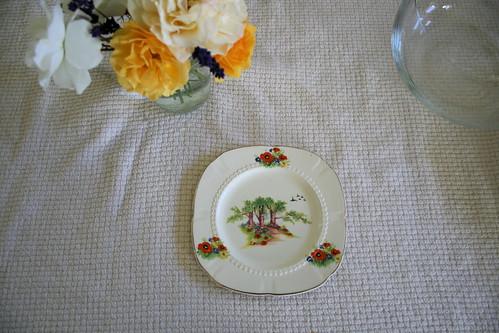 H&K Dessert Plate.