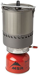 MSR reactor backpacking stove
