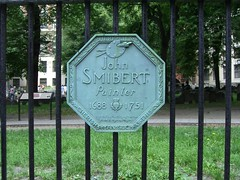 Plaque, John Smibert, Painter - Boston