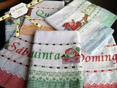 Semaninha de Natal (Lila Bordados em Ponto Cruz) Tags: natal decorao cozinha bordado pontocruz panodeprato semanina
