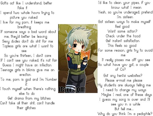 funny song. Kakashi#39;s Funny Song. Lol.