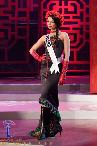 Traje Típico de Miss Irlanda