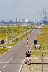 Straight towards the water (sjoerd_reverda) Tags: port rotterdam technology ships goods container maritime shipping maasvlakte bulk amazonehaven