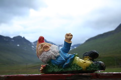 ! (wendy crockett) Tags: fun iceland crazy interesting gnome adventure explore hitchhiking hitching cr eastfjords stöðvarfjörður