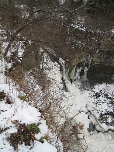 Other falls, between Ball's Falls and Niagara Falls