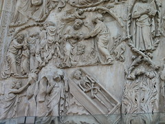 Duomo di Orvieto 6 (vaiinfissa) Tags: arte morte duomo orvieto bassorilievo abramo